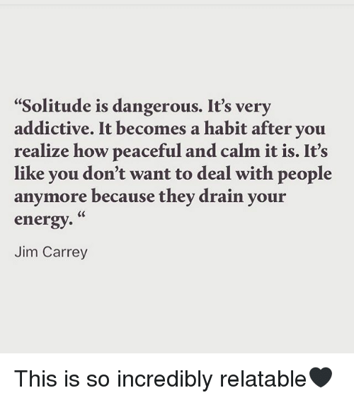 Jim Carrey quote on loneliness