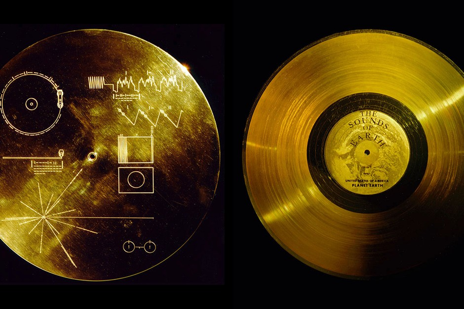 Golden record of Voyagers